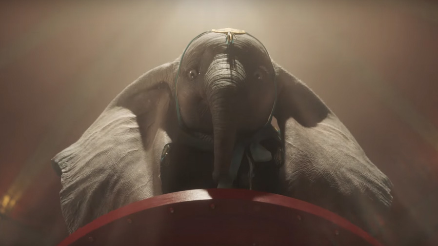 A heartwarming new trailer arrives for 'Dumbo'