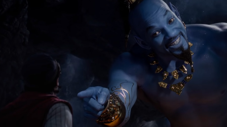 The magic dazzles in new trailer for 'Aladdin'