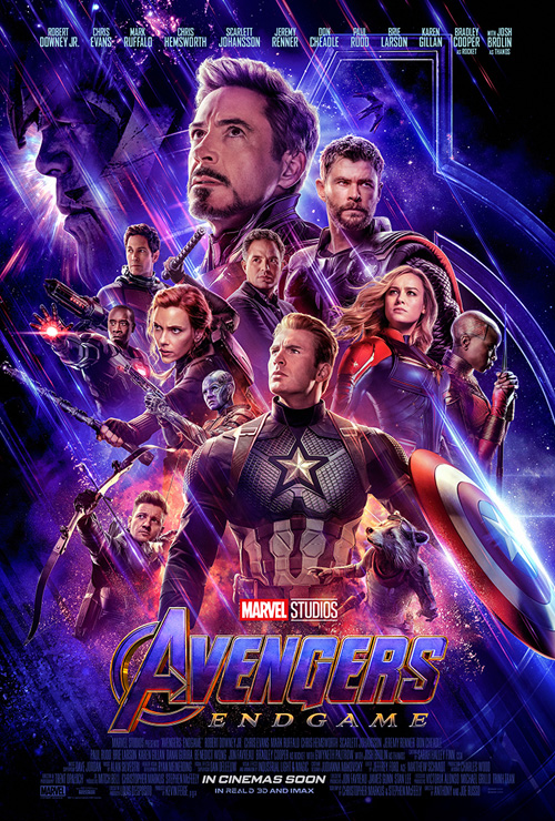 Avengers Endgame Poster SpicyPulp
