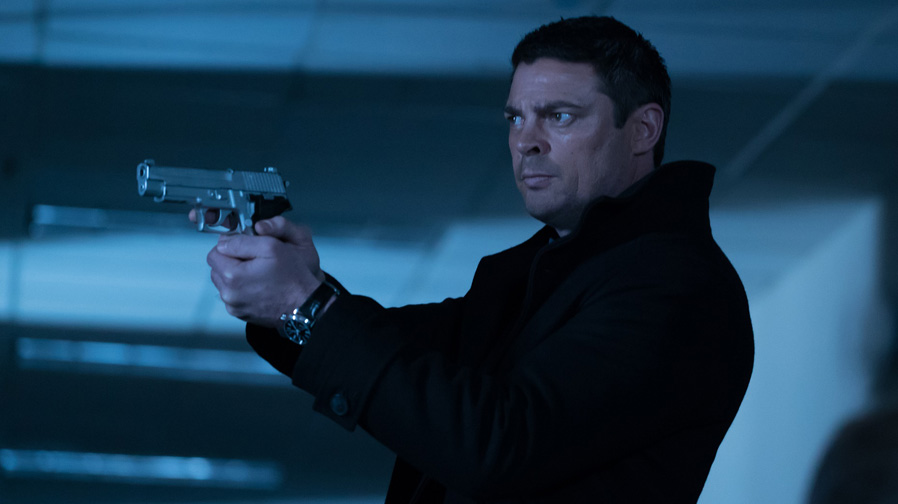 Karl Urban discusses details of 'Hangman'