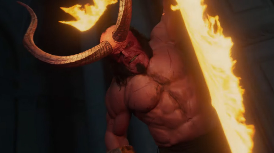 'Hellboy' brings the fury in ferocious new trailer