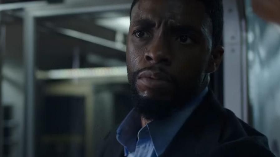 Chadwick Boseman is on the hunt in '21 Bridges'