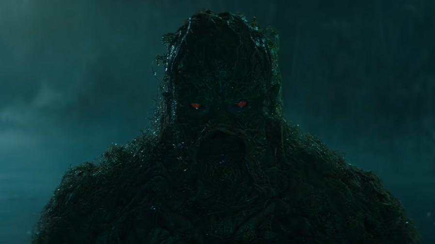 The darkness of the deep arrives in 'Swamp Thing'