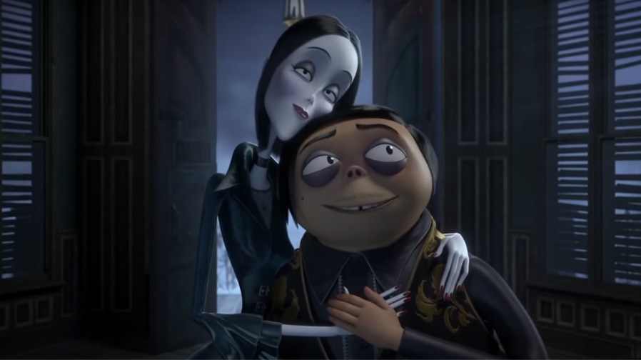 'The Addams Family' arrive in creepy and kooky style
