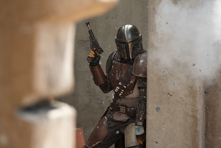 The Mandolorian Pedro Pascal Star Wars SpicyPulp