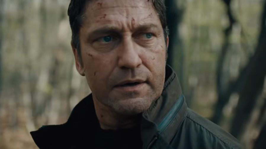 Gerard Butler locks and loads for 'Angel Has Fallen'