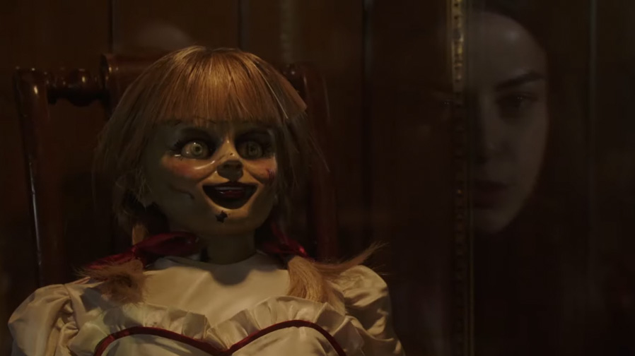 The doll returns for 'Annabelle Comes Home'