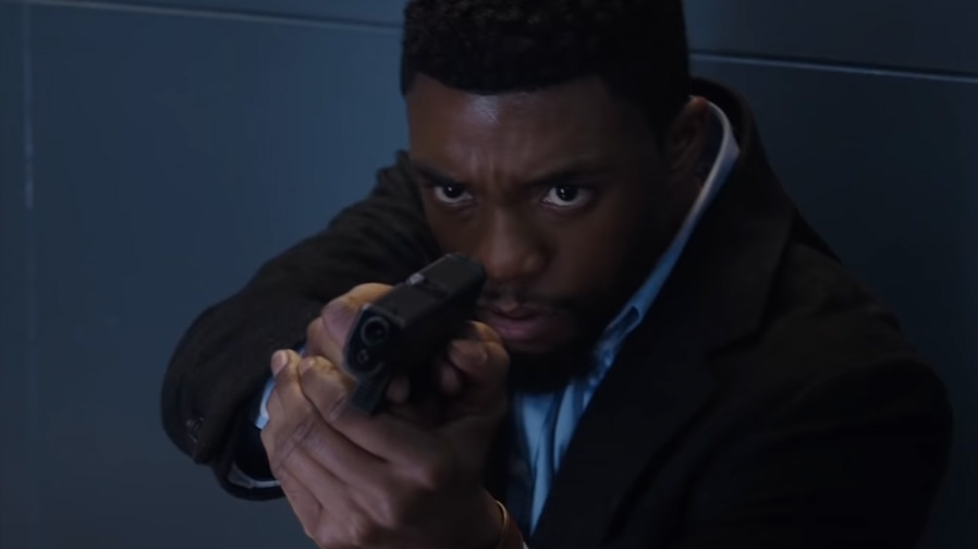 Chadwick Boseman brings the heat in '21 Bridges'