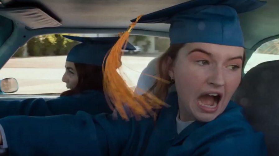The RedBand craziness is here with 'Booksmart'
