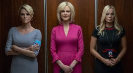 Charlize Theron, Nicole Kidman and Margot Robbie are all present for 'Bombshell'
