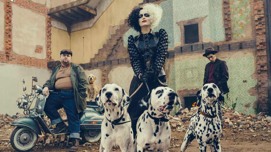 Emma Stone finds her evil couture side in 'Cruella'