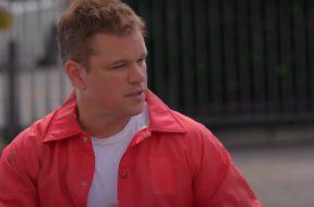 Matt Damon Jay Leno Ford v Ferrari SpicyPulp