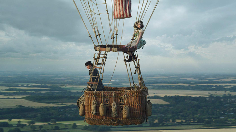 Step above the edge in 'The Aeronauts'