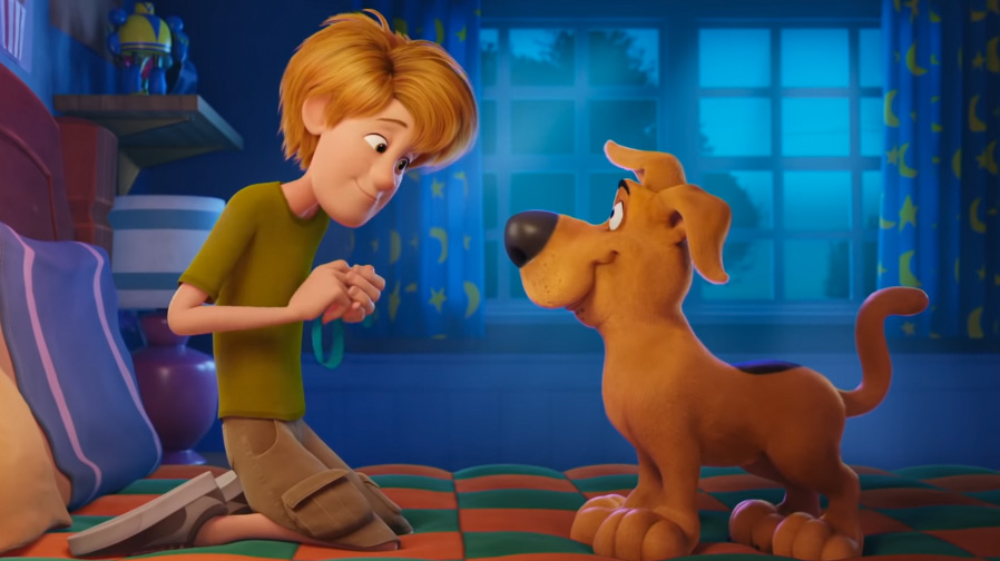 Take a first look at an all-new Scooby-Doo in 'Scoob!'