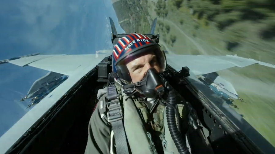 The G-Force takes off in 'Top Gun: Maverick'