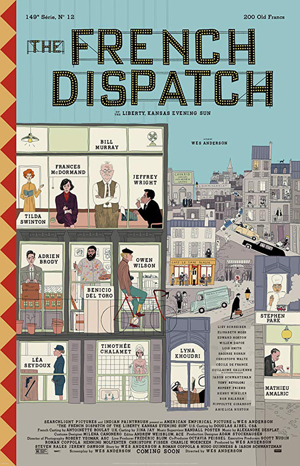 The French DIspatch Poster SpicyPulp