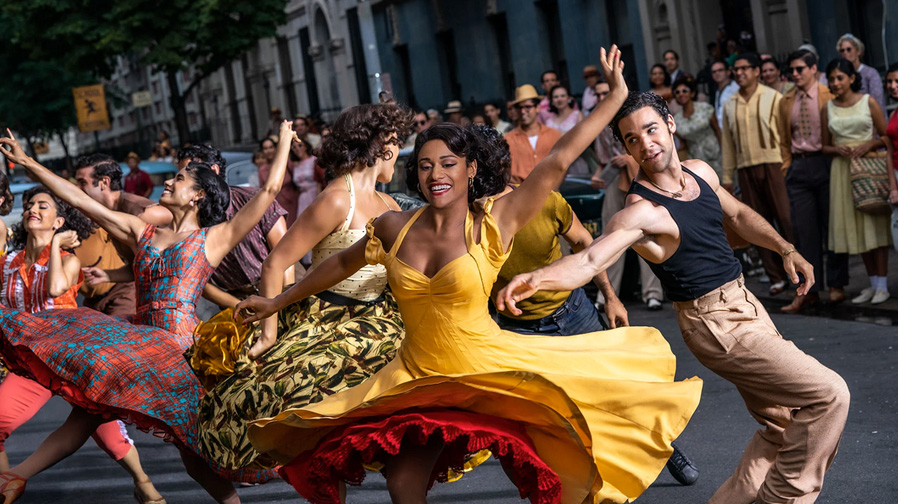 The energy is bright in 'West Side Story'