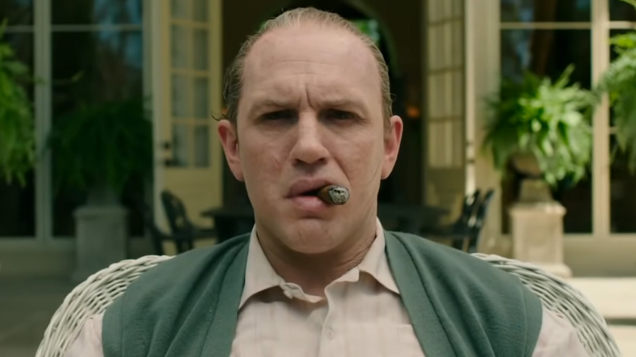 Tom Hardy gets old school for 'Capone'