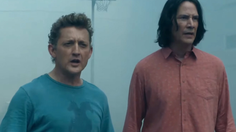 The first teaser trailer for 'Bill & Ted Face the Music' is here