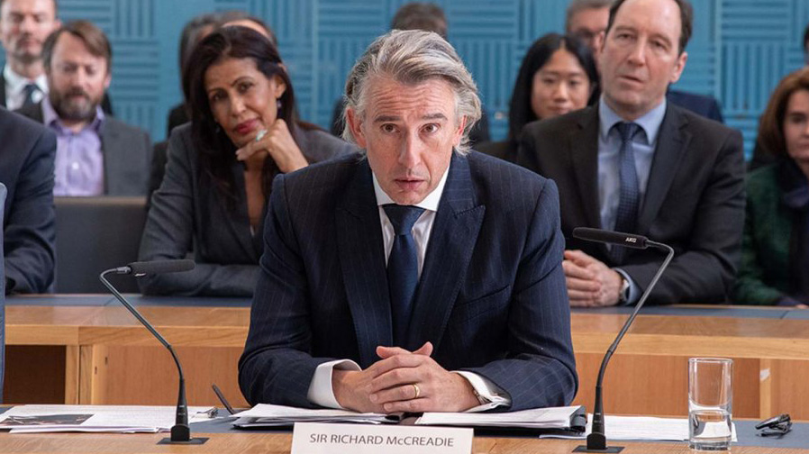 Steve Coogan goes for it with 'Greed'