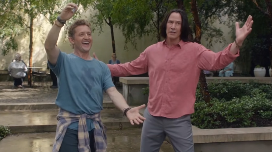 Rock on with 'Bill and Ted Face The Music'