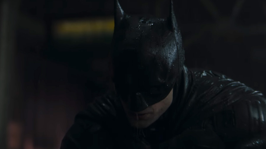 The first teaser for 'The Batman' is here