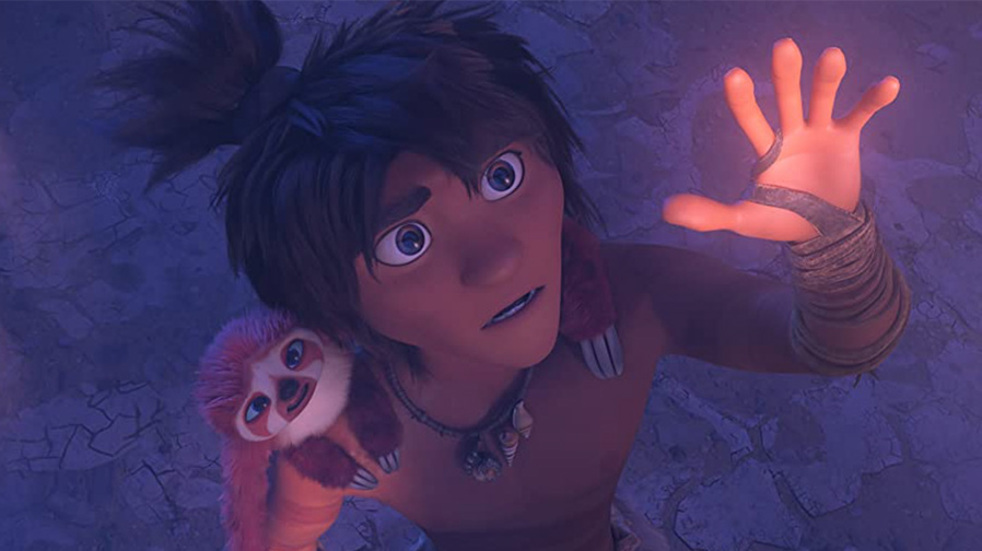 Step into the world of 'The Croods: A New Age'
