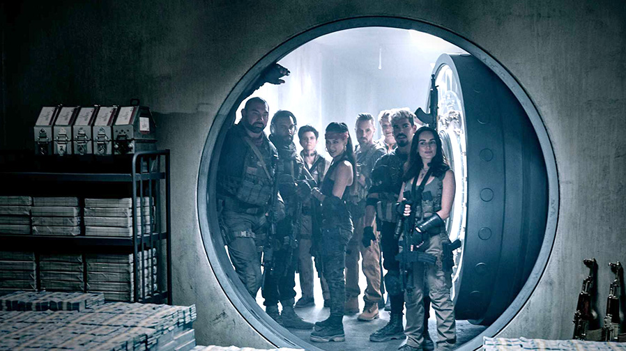 "Zack Snyder presents a new look at ""Army of the Dead'"