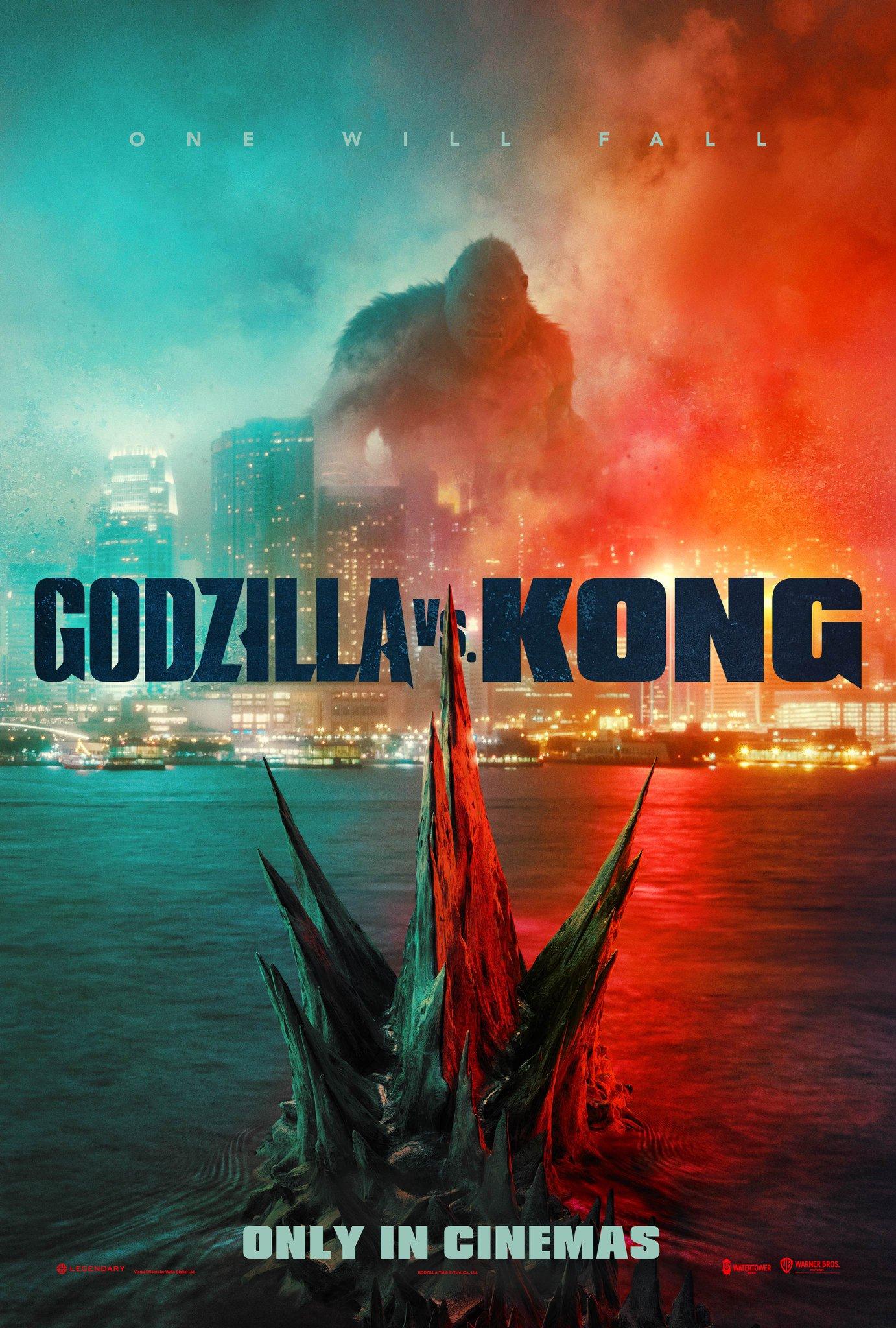 Godzilla vs Kong Poster SpicyPulp
