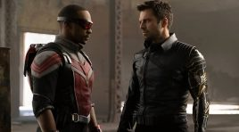 The action amps up in 'The Falcon and The Winter Soldier'
