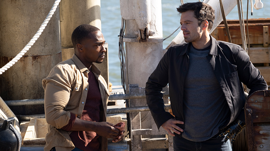 Step inside the action of 'The Falcon and The Winter Soldier' in new featurette