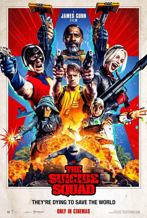 The Suicide Squad Poster NZ SpicyPulp