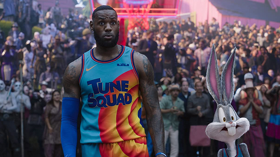 LeBron James is ready to jam out on the court in 'Space Jam: A New Legacy'