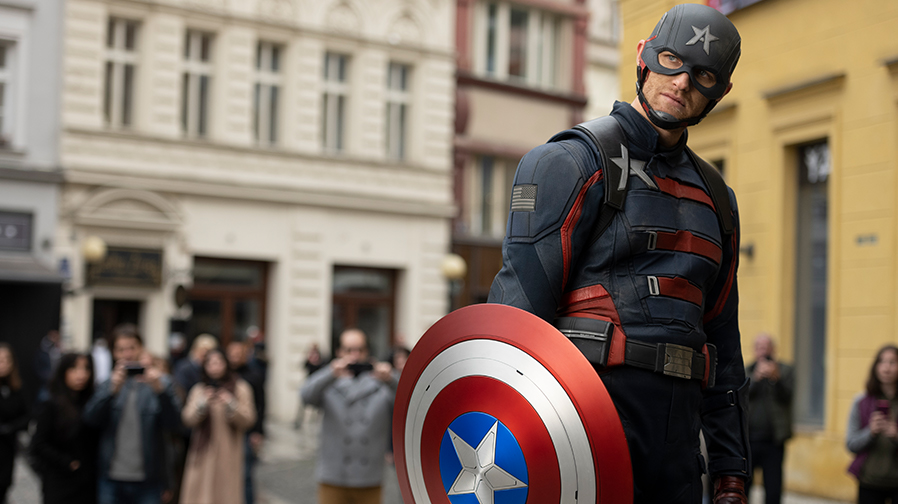 The shield weighs heavy in epic mid-season trailer for 'The Falcon and the Winter Soldier'