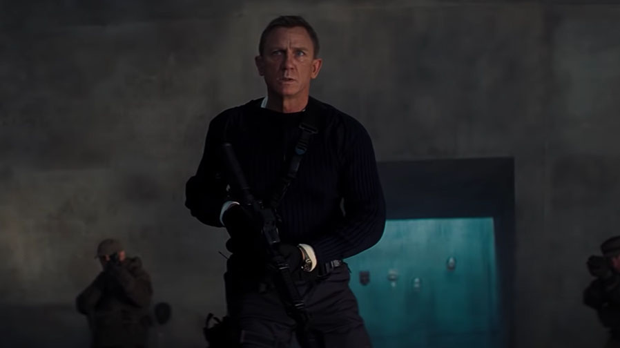 Daniel Craig brings the action one last time in 'No Time To Die'